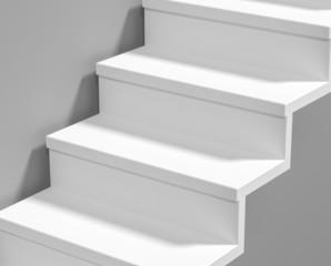 weisse stufen
