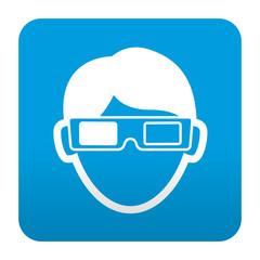 Etiqueta tipo app espectador 3D