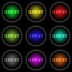 Button_Glow_SUPPORT_01 (black)