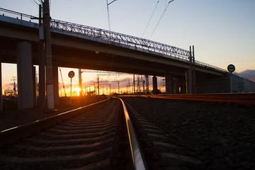 The bridge over the railway