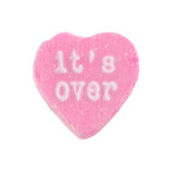 Candy Heart It's Over