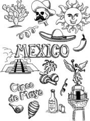 Mexico Doodle