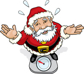 Santa Claus scale