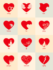 Infographic for Valentine's Day