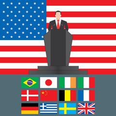United States of America Shutdown Closed Speech Tribune