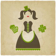 St. Patricks Day girl