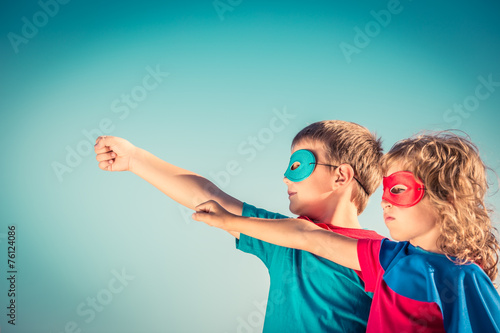 Superhero kids - 76124086