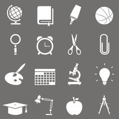 16 Iconos sobre educación I FO