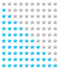 vector rating stars
