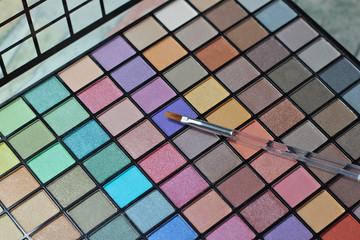 Eyeshadow makeup large palette