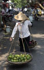 Typical Street Vendor in Hanoi