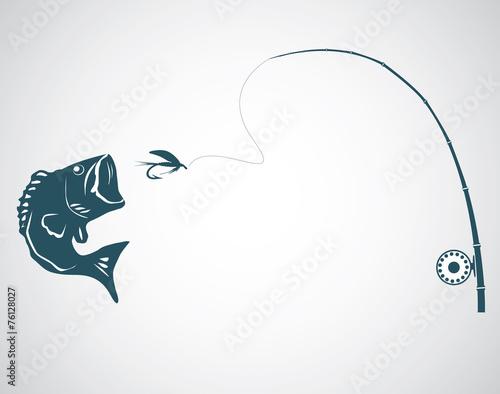 Fly fishing - 76128027