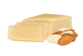marzipan with almonds
