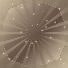 Radial vector background retro