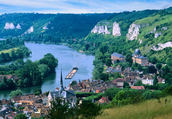 Bords de Seine, les Andelys, Normandie