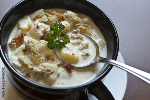 New England Clam Chowder - 76130095