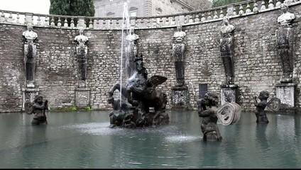 Pegasus Fountain Villa Lante Bagnaia Italy