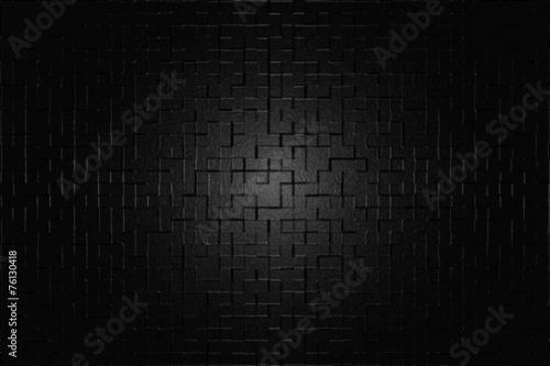 canvas print picture Schwarze Oberfläche
