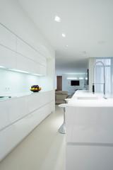 Pure, modern kitchen