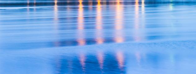 Hintergrund / Background Wasser in Blau