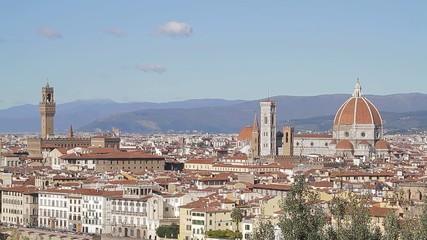 Duomo di Firenze dal Piazzale Michelangelo