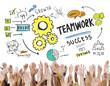 Collaboration Hands Volunteer Unity Team Concept