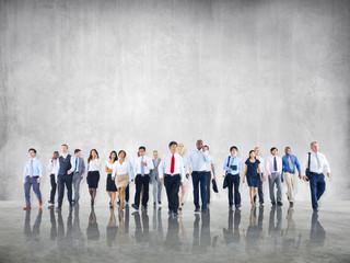 Business People Teamwork Walking Togetherness Team Concept