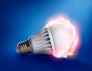 Magic LED lamp
