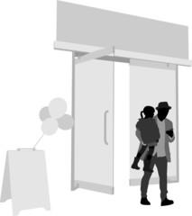 Open Door and Father