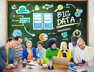 Diversity People Big Data Learning Teamwork Discussion Concept