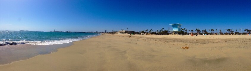 An ordinary sunny day in Long Beach LA
