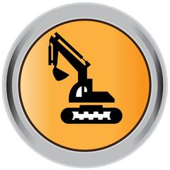 Excavator, icon