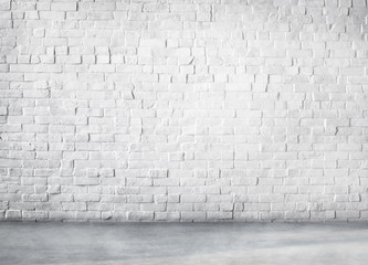 Clean Cement Built Structure White Background Copy Space