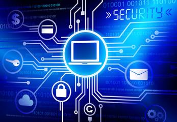 Concept Security System Internet Online Concept