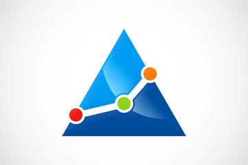 pyramid chart logo