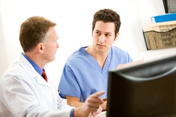 Doctors: Doctor Advising Coworker
