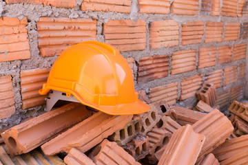construction helmet safety for protect worker