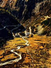 Krajobraz górski,Alpy, Szwajcaria