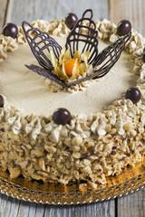 Coffee Cake Mocha  close-up.