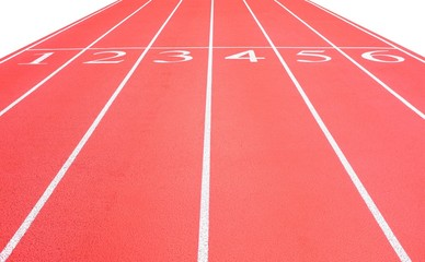 Athletic running track background