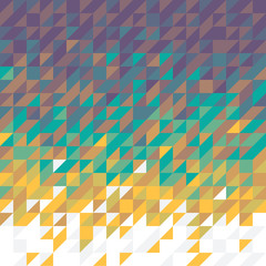 color mosaic background - vector illustration