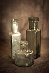 Diverse alte Flaschen