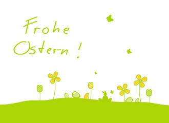 Frohe Ostern Hintergrund Ostern