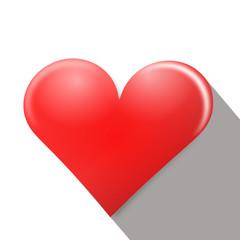 herz rot symbol icon