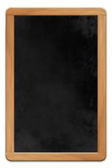 Blank framed blackboard