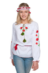 Pretty teen Ukrainian girl