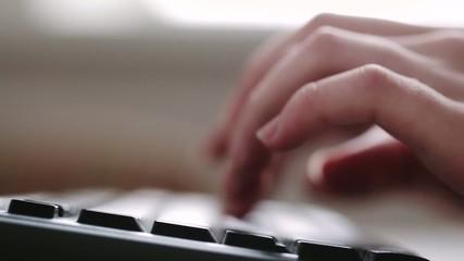 type on keyboard