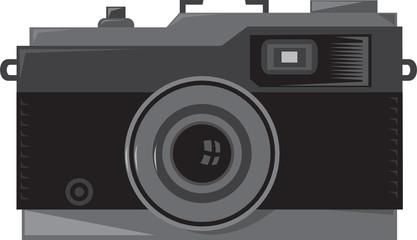 Vintage Camera Front Retro