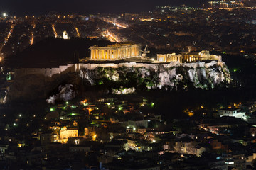 The Old, the Ancient and the Modern city of Athens
