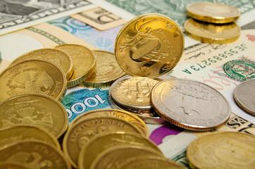 Ruble exchange rate.